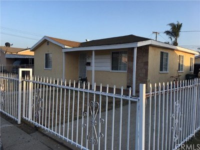 Hawthorne Single Family Home For Sale: 3610 W 132nd Street