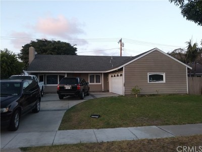 Costa Mesa Single Family Home Active Under Contract: 1184 Paularino Avenue
