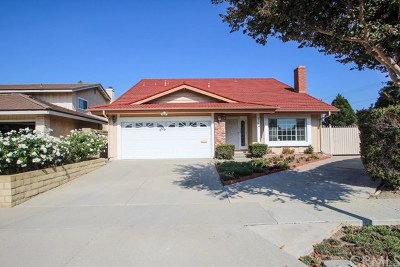 Fountain Valley Single Family Home For Sale: 8985 Yuba River Ave