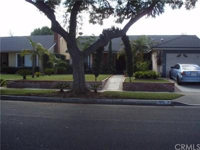 Santa Ana Single Family Home Active Under Contract: 1014 W Orange Road