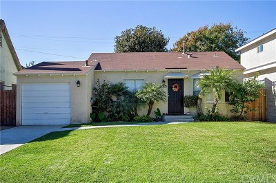 Santa Ana Single Family Home For Sale: 2034 S Broadway