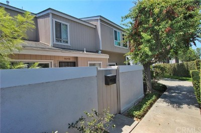 Santa Ana Condo/Townhouse For Sale: 2640 W Segerstrom Avenue #G