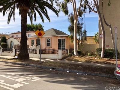 Los Angeles Single Family Home For Sale: 1719 Cedar Avenue