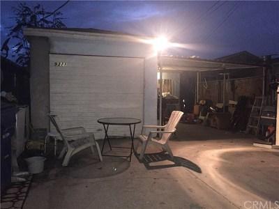 Los Angeles Single Family Home Active Under Contract: 9311 Wilmington Avenue