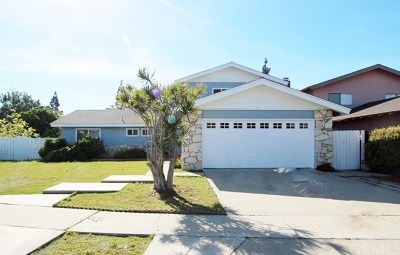 Costa Mesa Single Family Home For Sale: 3109 Taft Way