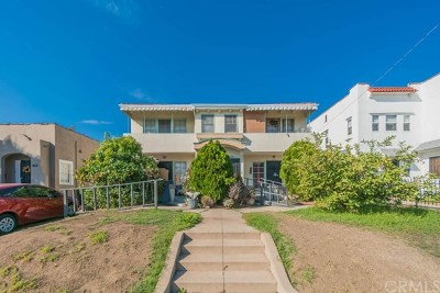 Los Angeles Multi Family Home For Sale: 1149 N New Hampshire Avenue