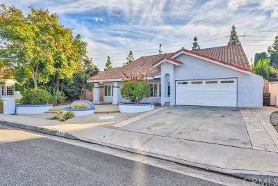 Fountain Valley Single Family Home For Sale: 9786 Debiois Avenue