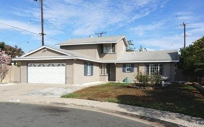 Fountain Valley Single Family Home For Sale: 16632 Bushard Street