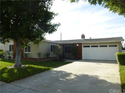 Santa Ana Single Family Home For Sale: 1662 Kenneth Drive