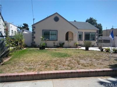 Santa Ana Single Family Home For Sale: 1402 W Washington Avenue