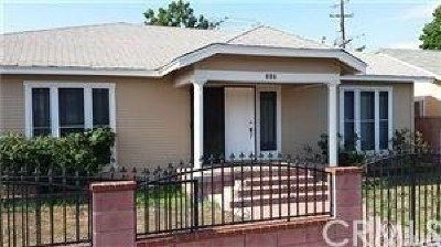 Santa Ana Single Family Home For Sale: 327 Normandy Place