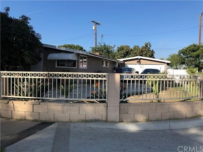 Santa Ana Single Family Home For Sale: 1228 S Standard Avenue
