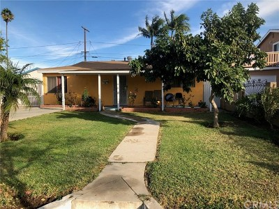 Santa Ana Single Family Home For Sale: 2011 Kilson Drive