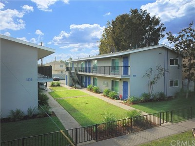 Santa Ana Multi Family Home For Sale: 1222 W Brook Street