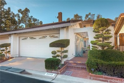 Anaheim Hills Single Family Home Active Under Contract: 6509 E Paseo El Greco