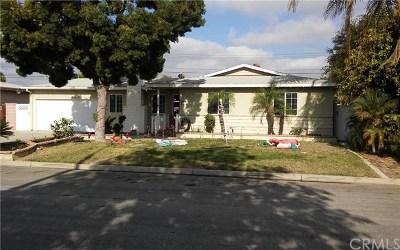 Anaheim Single Family Home For Sale: 2549 W Eola Drive