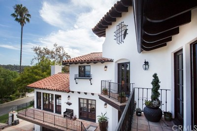 Palos Verdes Estates Single Family Home For Sale: 2312 Via Pinale