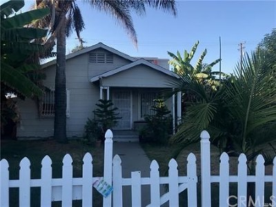Santa Ana CA Single Family Home For Sale: $440,000
