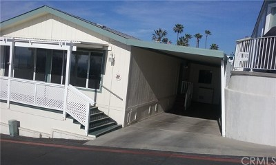 San Clemente Mobile Home For Sale: 307 Beach