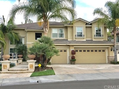 Yorba Linda Rental For Rent: 20160 Via Natalie