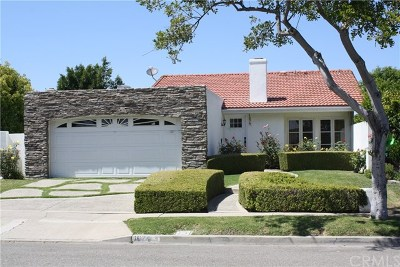 Costa Mesa Single Family Home Active Under Contract: 1074 Vallejo Circle