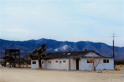 Lucerne Valley Single Family Home For Sale: 33825 Sunset Road