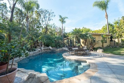 North Tustin Single Family Home For Sale: 19682 Pine Canyon Road
