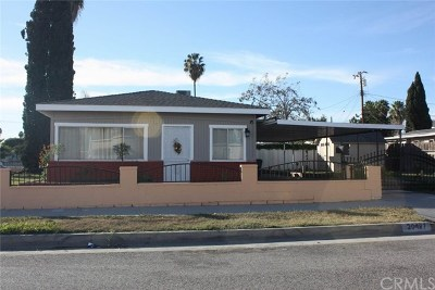 Lakewood Single Family Home For Sale: 20427 Clarkdale Avenue