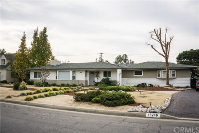 Whittier Single Family Home For Sale: 15246 El Soneto Drive