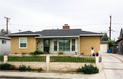 Whittier Single Family Home For Sale: 13983 Lanning Drive