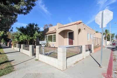 Santa Ana Single Family Home For Sale: 1101 W Pine Street