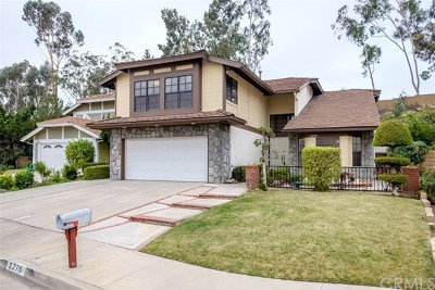 Fullerton Single Family Home For Sale: 2276 Pickwick Place