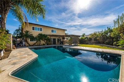 Fullerton Single Family Home For Sale: 3101 Heather Drive