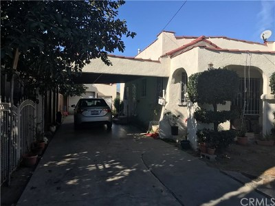 Compton Multi Family Home For Sale: 709 N Burris Avenue