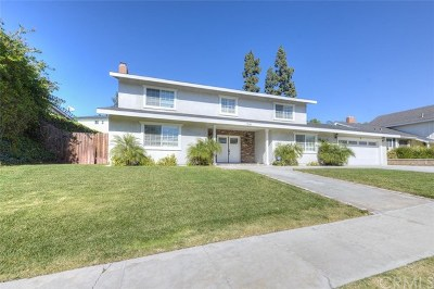 La Habra Single Family Home For Sale: 1341 E North Hills Drive