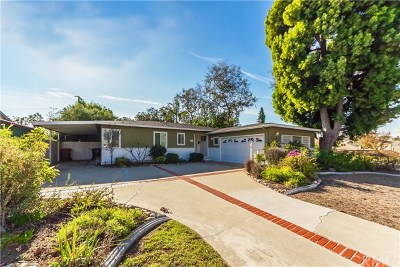 Fullerton Single Family Home For Sale: 1500 Nutwood Avenue