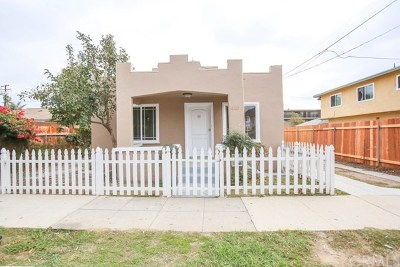Santa Ana Single Family Home Active Under Contract: 610 Lime