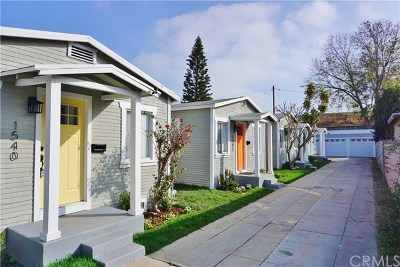 Long Beach Multi Family Home For Sale: 1540 Stanley Avenue