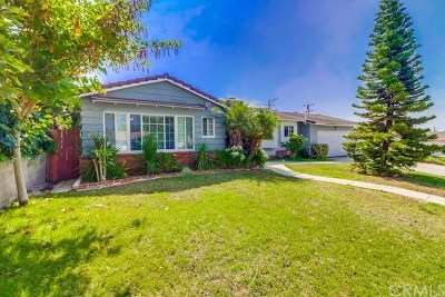 La Habra Single Family Home For Sale: 940 Kirby