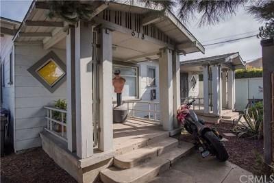 Long Beach Multi Family Home For Sale: 672 Junipero Avenue