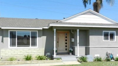 Downey CA Single Family Home For Sale: $599,900