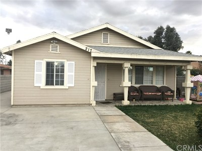 Perris Single Family Home Active Under Contract: 217 E 5th Street