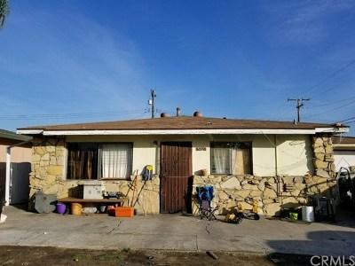 La Puente Single Family Home For Sale: 582 Balham Avenue
