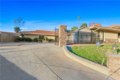 West Covina Single Family Home For Sale: 1222 Hollencrest Drive