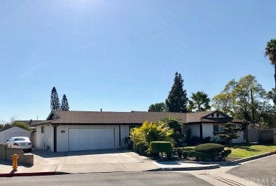 Anaheim Single Family Home For Sale: 1124 W La Entrada Circle
