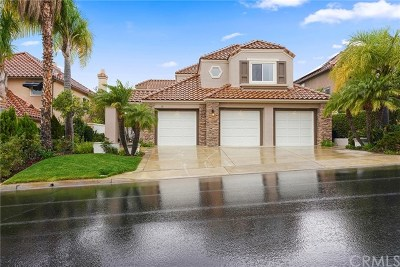 Rancho Santa Margarita Single Family Home For Sale: 55 Hillrise