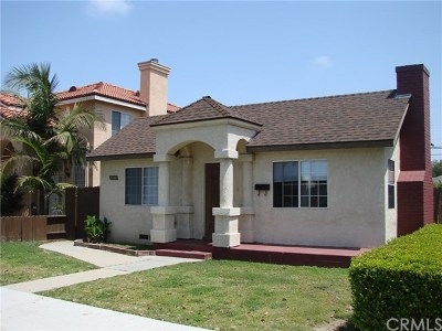 Long Beach Single Family Home For Sale: 2244 Delta Avenue