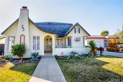 Fullerton Single Family Home For Sale: 809 N Richman Avenue