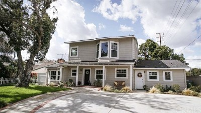 North Tustin Single Family Home Active Under Contract: 14001 Windsor Place