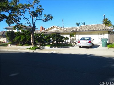 Huntington Beach Single Family Home For Sale: 8211 Mary Circle